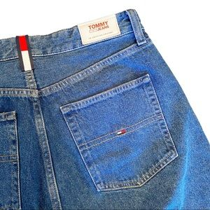 Tommy Hilfiger 1990 high rise straight crop jeans